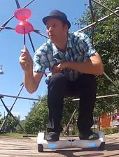 Photo du spectacle Hoverboard Juggling